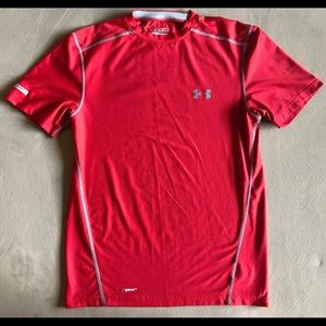 Under Armour short-sleeve t-shirt, Adult Small